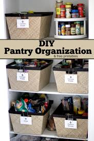 diy pantry organization project pinkwhen