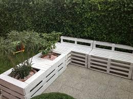 canapé en palette de bois diy salon de jardin en palette mes mat le