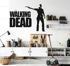 Walking Dead Wall Decal Sticker Decor Sticker The Walking Dead