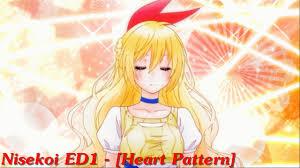 heart pattern lyrics nisekoi nisekoi ed1 heart pattern full version youtube