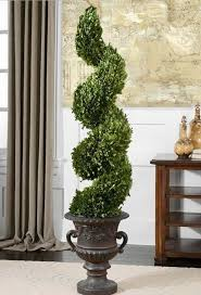 artificial spiral topiary trees decoration artificial topiary
