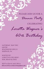 25th birthday dinner invitation wording tags birthday dinner