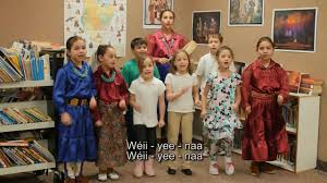 utah kids ready to read the puppy song sung in navajo léécha