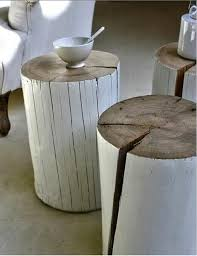 tables made from logs amazing diy log ideas