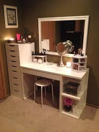 makeup vanity ideas for bedroom bedroom vanity with storage empiricos club