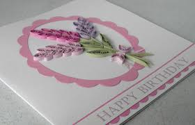 paper cards quilled teacups card