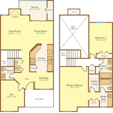 Palm Harbor Floor Plans by 2 Bed 2 5 Bath Apartment In Palm Harbor Fl Madison Oaks