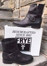 s frye boots size 9 frye buckle low heel 3 4 in to 1 1 2 in boots for ebay