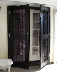 Screen French Doors Outswing - nx stage security sliding doors french doors window guards my