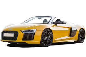 audi r8 spyder convertible review carbuyer