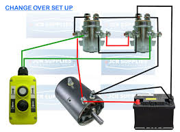 unique wiring diagram for 12 volt winch relay motor free