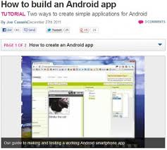 make an android app how to make android apps top resources and tutorials