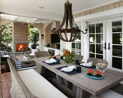gorgeous porch dining table patio dining table houzz
