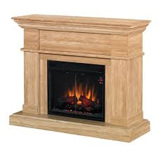 fireplace cheap electric fireplace kit featuring unfinished wood