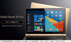 windows 10 on android tablet onda obook 20 plus 10 1 inch windows 10 android 5 1 tablet pc
