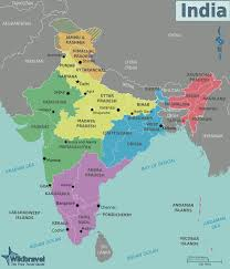 India Maps by Map Of India Regions Worldofmaps Net Online Maps And Travel