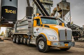 kenworth shop t880 super dump boosts driver productivity