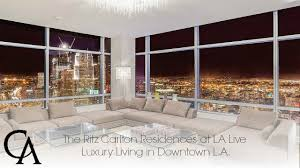 luxury home for sale ritz carlton residences in downtown los