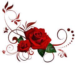 Rose Flower Design Gothic Rose Png Picture Png Mart
