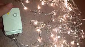 starry string lights 8 modes 33ft 100 warm white bright led lights