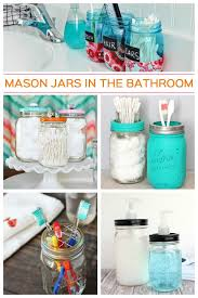 craft ideas for bathroom 10 mason jar ideas for the bathroom get supplies at flower factory