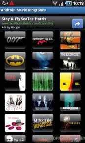 ringtones for android android ringtones free android app android freeware