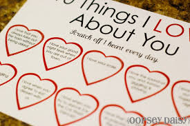 6 best images of 100 printable i love you 52 reasons why i love