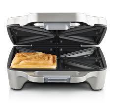 Breville Sandwich Toaster Sunbeam Gr6450 Big Fill Toastie For 4 Sandwich Maker Ebay