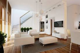 living room awesome white colorful wood glass unique design