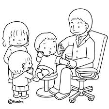 doctor coloring pages doctor visit coloring pages u2013 kids coloring