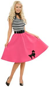 Party Costumes Halloween Poodle Skirt U0026 Scarf Costume Poodle Skirts