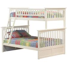 White Bunk Bed Frame Atlantic Columbia Bunk Bed Assembly Instruction How To Assemble