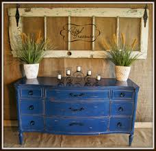furniture distressed dresser with drawers and shelves for home
