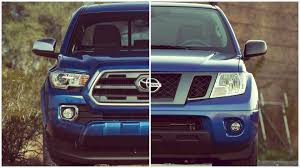 nissan frontier work truck 2016 toyota tacoma vs nissan frontier vc youtube