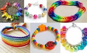 make rainbow bracelet images Rainbow button bracelets pandahall beads jewelry blog jpg
