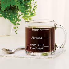 amazon com shhh almost now you may speak funny glass coffee