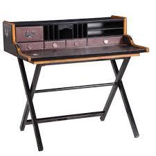 Black Ash Computer Desk Kipling Black Ash U0026 Leather Desk U2013 Shropshire Design