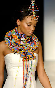fashionable african ceremonial wedding necklace choker u0026 hair
