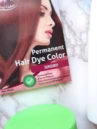 makeup in manila glam works hair dye in burgundy review