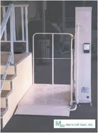 macs vpl wheel chair lift pl50 mac u0027s wheelchair elevator lift pl 50