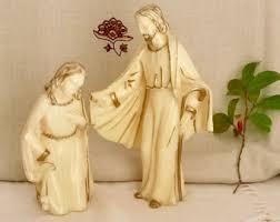 Religious Home Decor Religious Figures Etsy