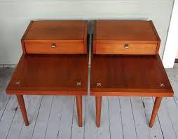 American Of Martinsville Bedroom Furniture Mid Century American Of Martinsville End Tables Mid Century Mid