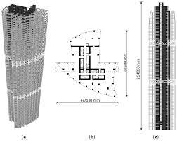 high rise floor plans sensors free full text field monitoring of column shortenings