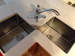 terrific ruvati rvh8400 undermount corner kitchen sink 16 gauge 44