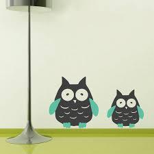 Owl Wall Decals Nursery by Magnificent 40 Owl Wall Decor Design Decoration Of Black U0026 Bronze