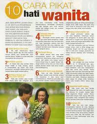 10 cara memikat wanita cara mudah