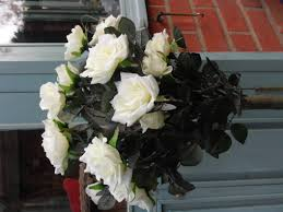 Gardenia Topiary Cream Rose Artificial Topiary Trees X 2 For Sale Gorgeous Now