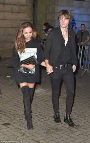 mix s jade thirlwall cuddles up to boyfriend jed elliott in