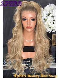 is island medium hair a wig wholesale dark roots ombre blonde silk top full lace wigs with combs