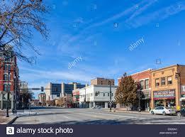 Wichita Kansas East Douglas Avenue In Historic Downtown Wichita Kansas Usa